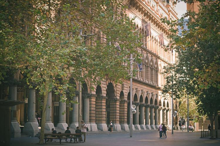 Martin Place# Pitt Street